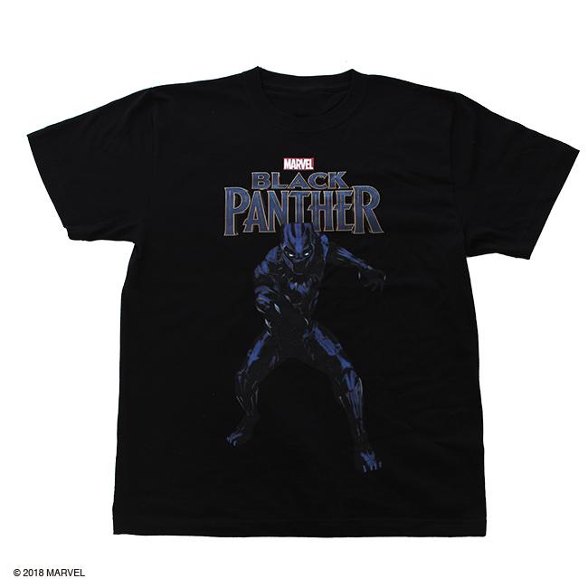 【MARVEL】ブラックパンサー Tシャツ