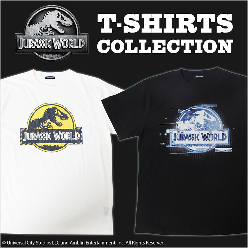 JURASSIC WORLD T-SHIRTS COLLECTION