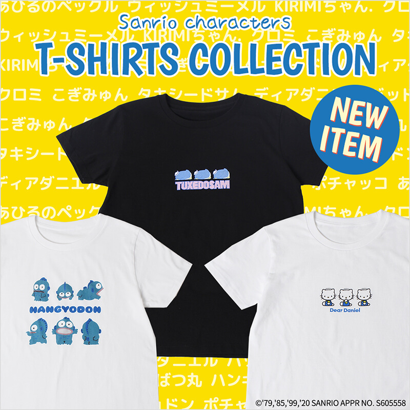 sanrio characters T-SHIRTS COLLECTION