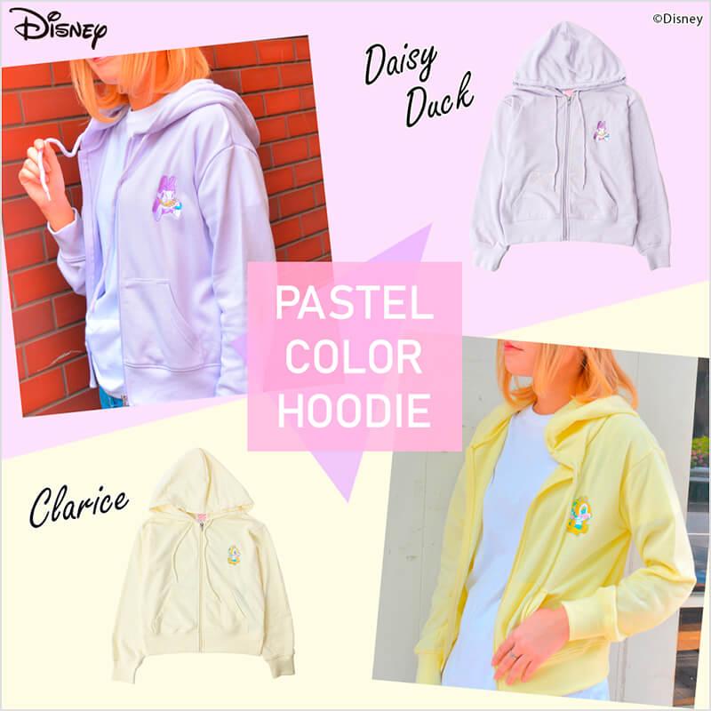 Disney PASTEL COLOR HOODIE