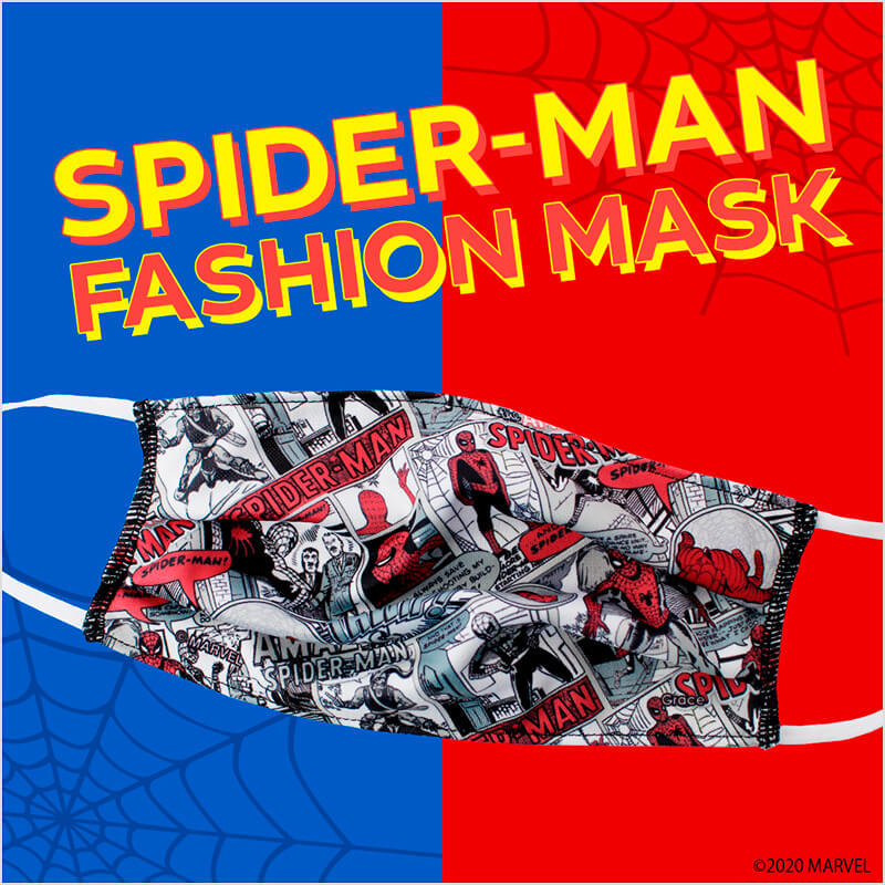 SPIDER-MAN FASHION MASK