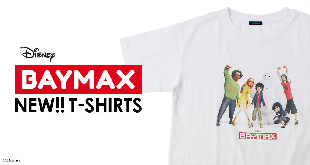 ベイマックス HERO6 Tシャツ