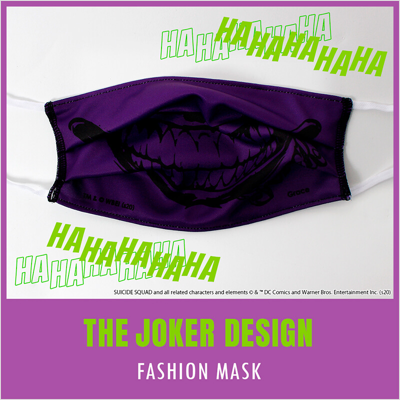 THE JOKER DESIGN FASHION MASK