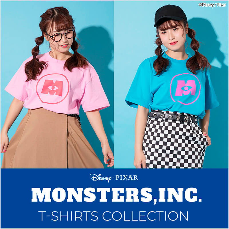 Disney Pixar モンスターズ・インク T-SHIRTS COLLECTION
