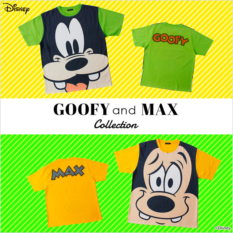 Disney GOOFY and MAX collection