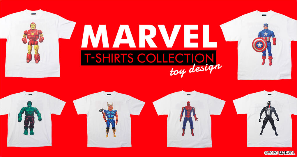 MARVEL T-SHIRTS COLLECTION