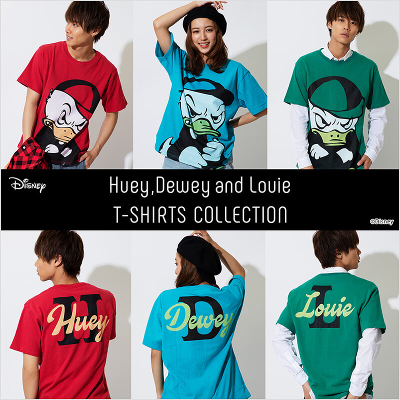 Disney Huey, Dewey and Louie T-SHIRTS COLLECTION