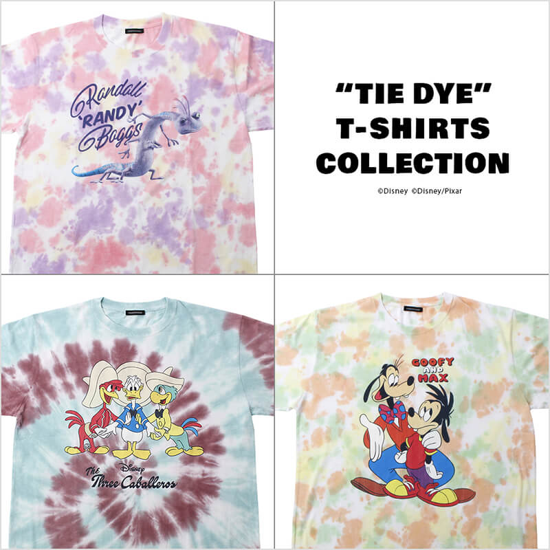 TIE DYE T-SHIRTS COLLECTION