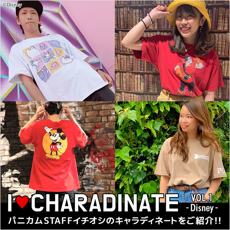 I LOVE CHARADINATE 『Disney』
