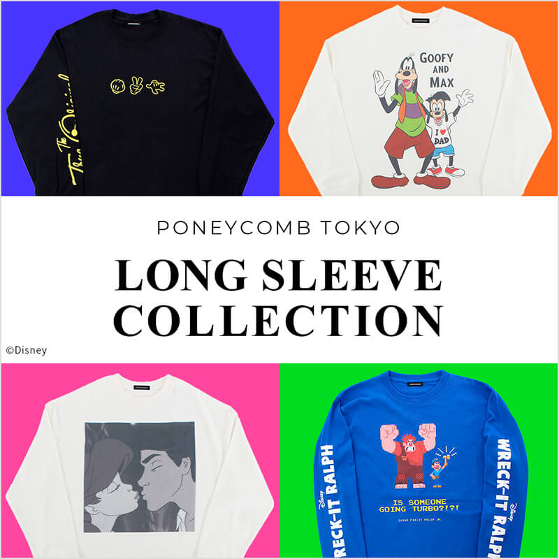 LONG SLEEVE COLLECTION by PONEYCOMB TOKYO