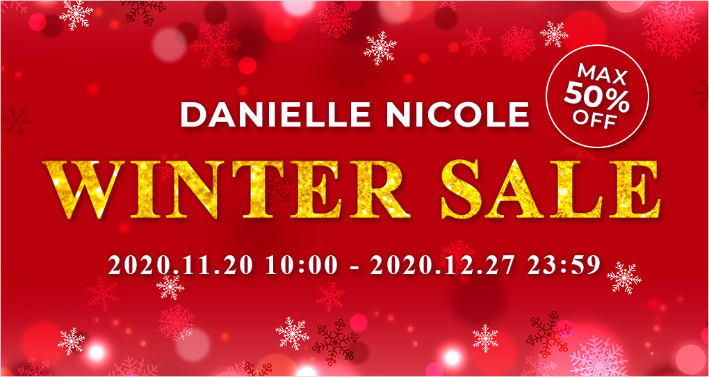 MAX50%OFF!! DANIELLE NICOLE WINTER SALE