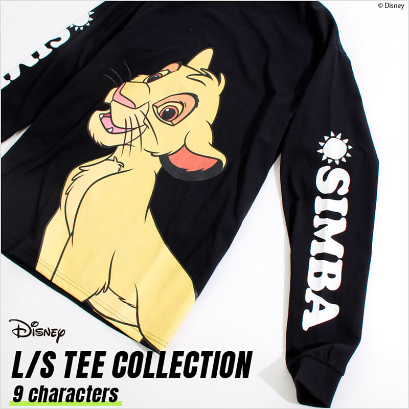 Disney BIG PRINT L/S TEE COLLECTION
