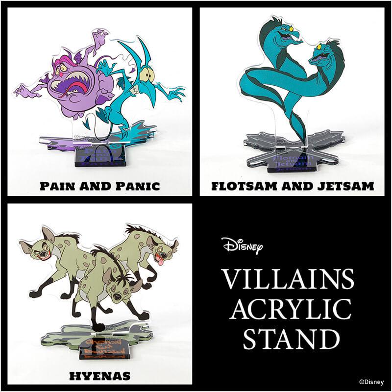 Disney VILLAINS ACRYLIC STAND