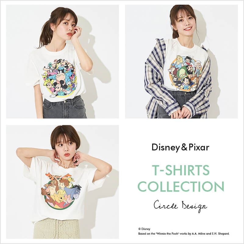 Disney&Pixar T-SHIRTS COLLECTION