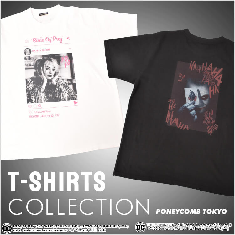 DC T-SHIRTS COLLECTION