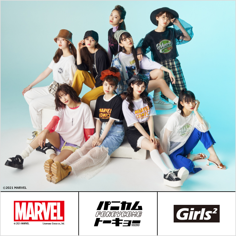 【MARVEL】PONEYCOMB TOKYO Collection With Girls2