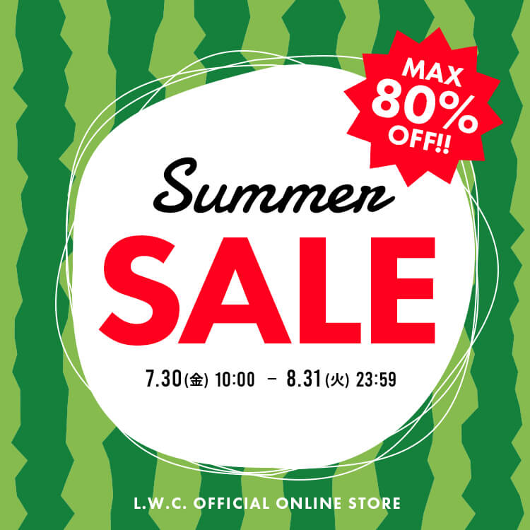 MAX80%OFF!! SUMMER SALE